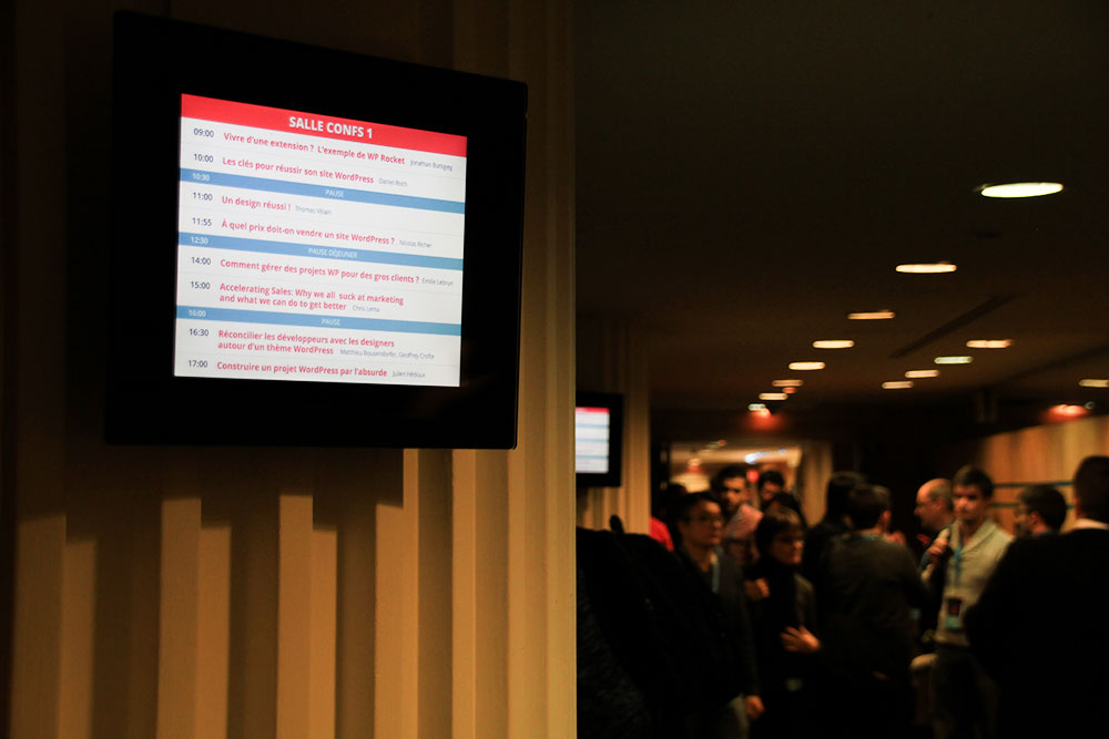 Salle Conferences 1 - WCParis