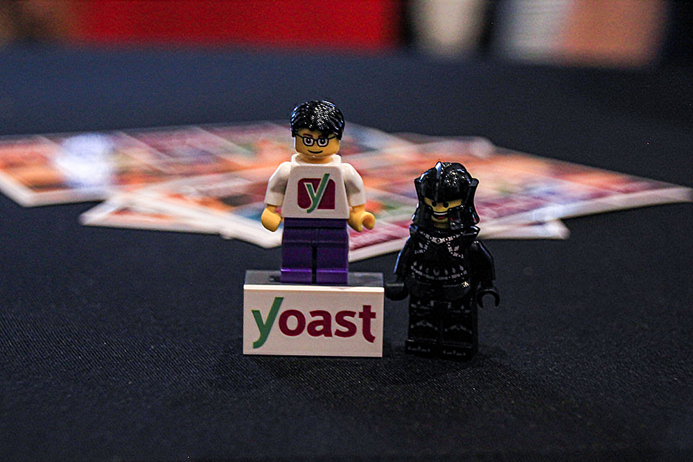 Blacknight meeting Yoast Lego