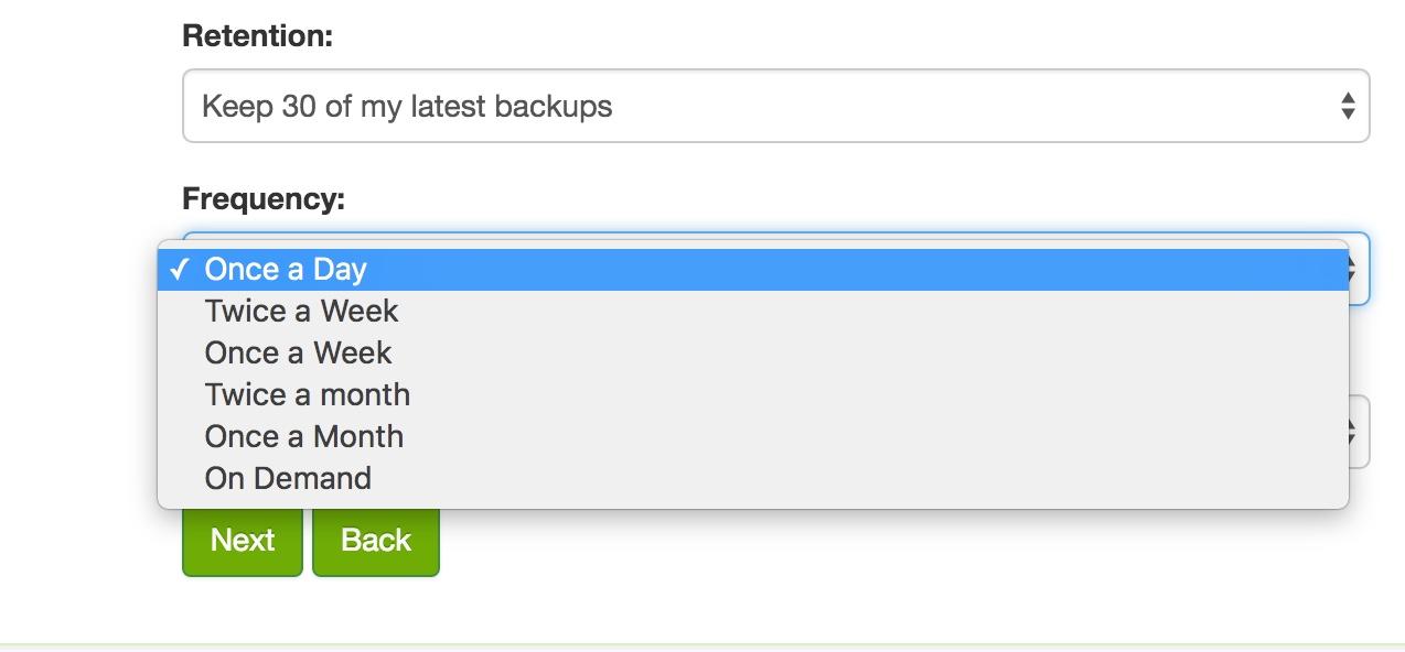 website-backup-schedule