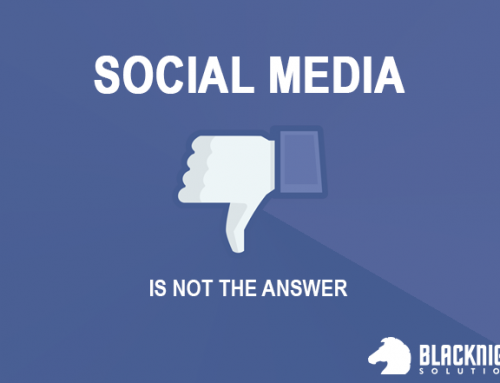 Social Media Isn't The Answer To Everything