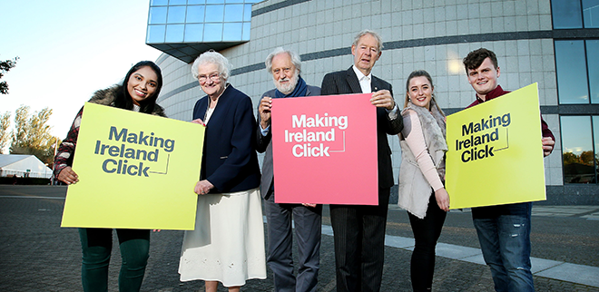 Making Ireland Click is a new TV Series promoting Digital Literacy