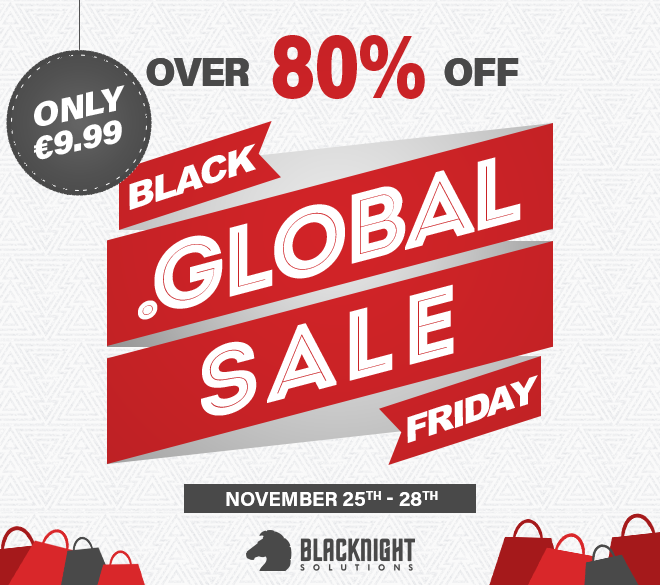 Borderless Black Friday dot-GLOBAL promotion