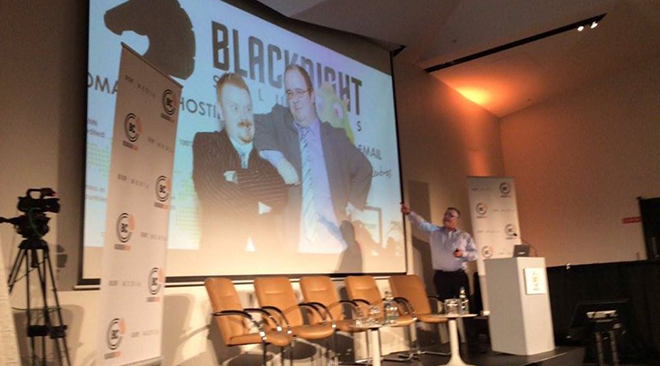 "Conn speaks at BLOGGERCONF: ""Blacknight's founders are really giants. Also we have a dragon"""