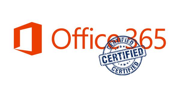 Office 365 Certified