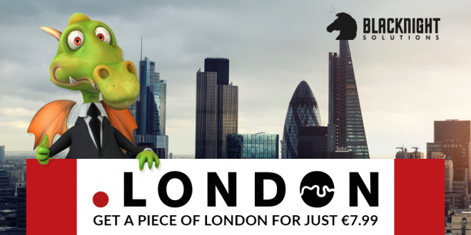 Blacknight has a terrific offer on dot-LONDON registrations for the first three years. Claim your link with one of the world's greatest cities.