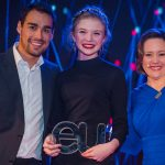 17-year-old blogger Zoe O'Connor from Kerry received a special award at the 2016 EU Web Awards
