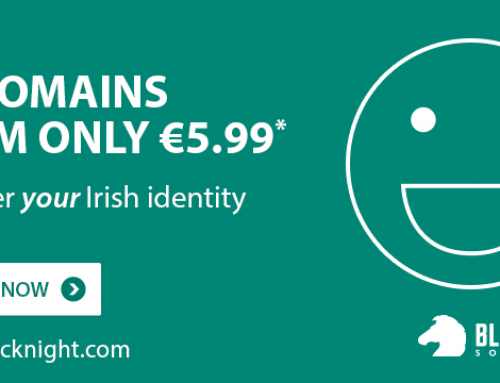 Getting online is easy with our .IE Domain and Hosting Offer!
