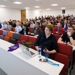 The First Wordcamp Belfast, held at Queens University in 2016. WordCamp Dublin is on in DCU this weekend