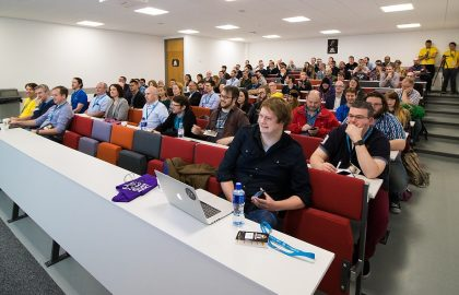 The First Wordcamp Belfast, held at Queens University in 2016. WordCamp Dublin is on in DCU this weekend