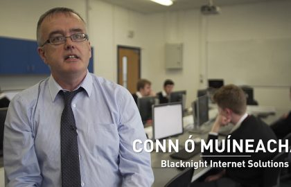 Blacknight is playing its part in Ireland's Internet Day, supporting students at Creagh College and demonstrating How to Build a Website in 20 Minutes at the Digital Dome in Gorey.