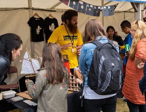Dublin Maker: Inventors Take Over Merrion Square [Audio]