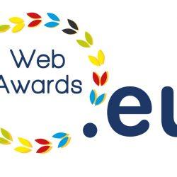Eu web awards logo