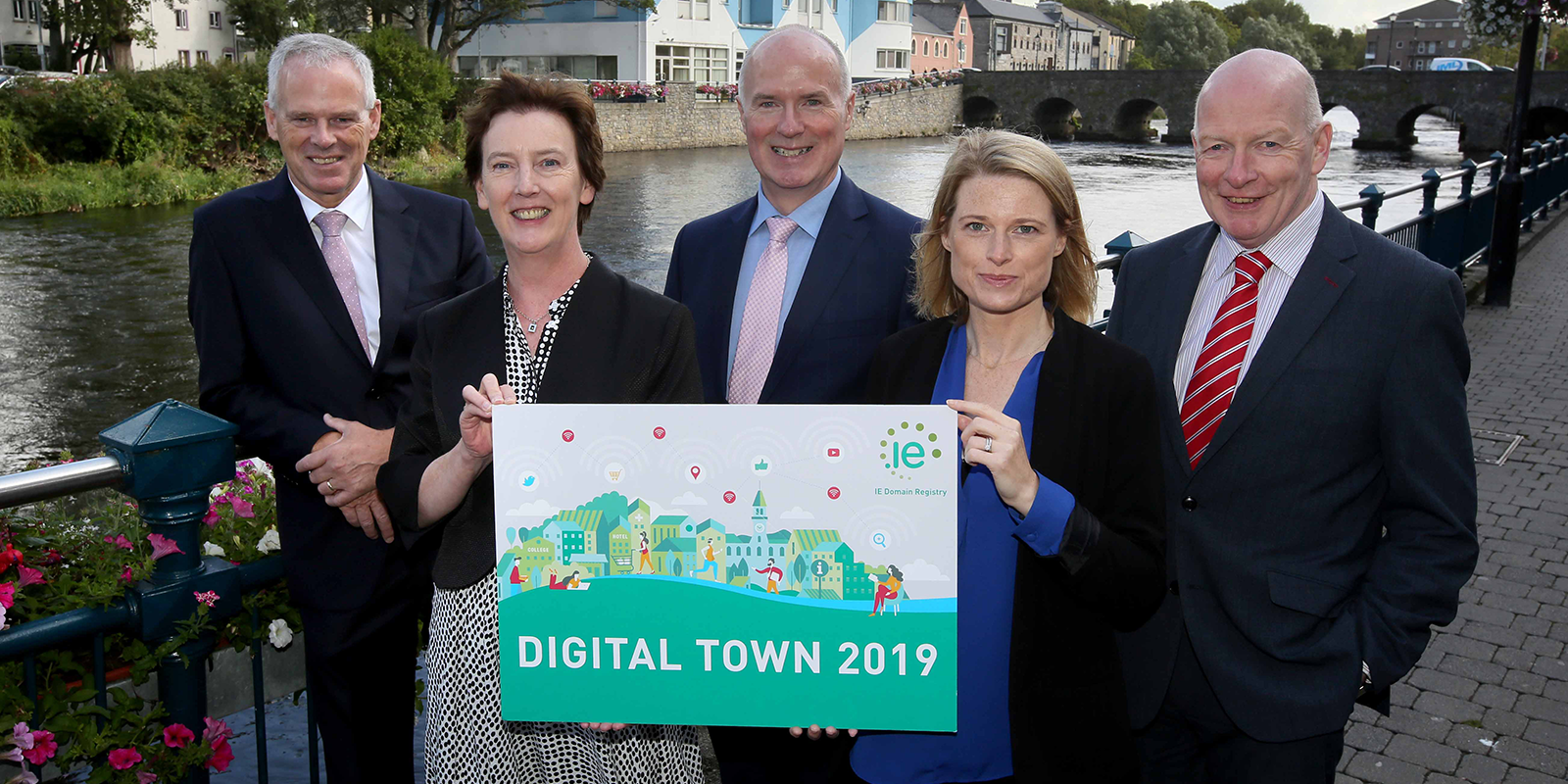 Sligo has been chosen as Ireland's Digital Town 2019 under the scheme run by the IE Domain Registry,.