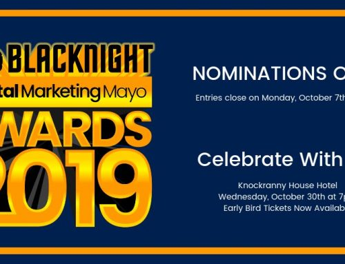 Enter Now for The Blacknight Digital Marketing Mayo Awards
