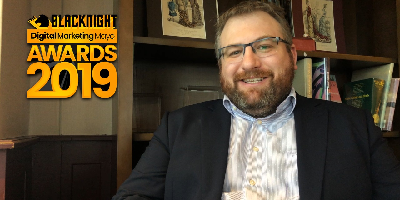 Video interview with Alastair McDermott, co-organiser of the Blacknight Digital Marketing Mayo Awards 2019