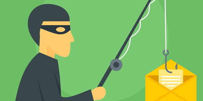 Image of a masked man removing a letter from an envelope using a fishing rod