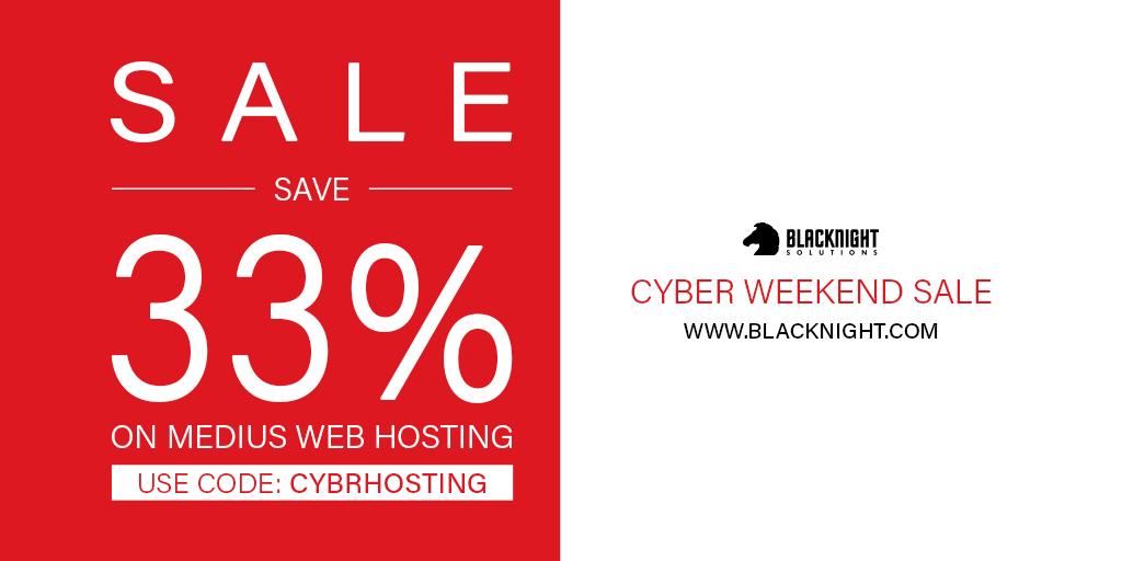 Save 33% on Medius Web Hosting. Use code: CYBRHOSTING