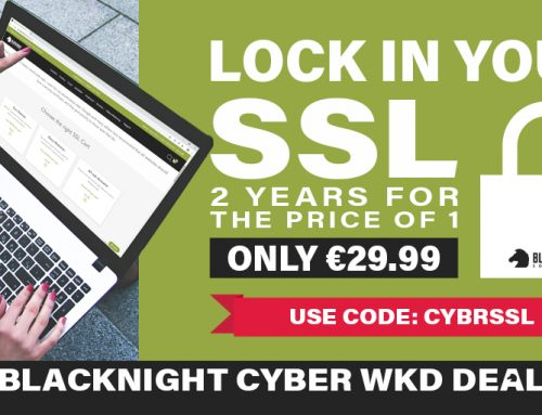 Black Friday Bargains at Blacknight: Up To 50% Off Hosting, Domains and SSL