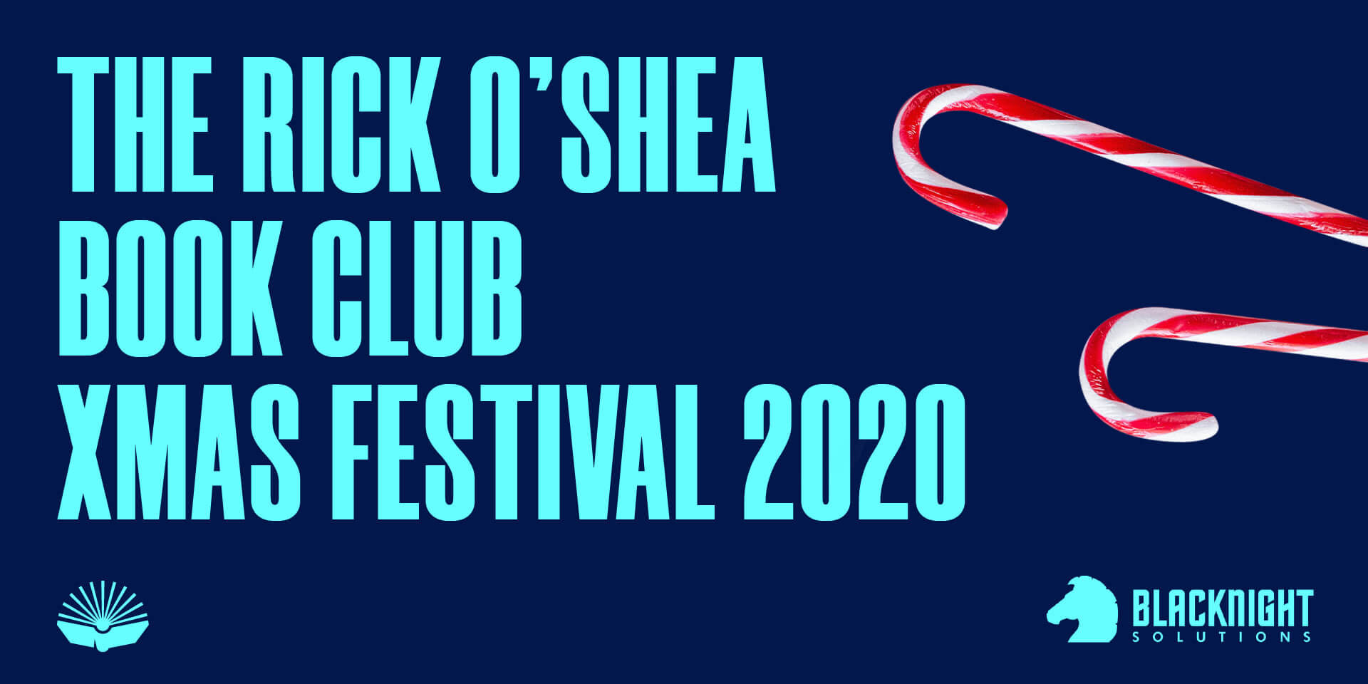 Blacknight has sponsored the inaugural Rick O'Shea Book Club Christmas Festival 2020.