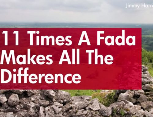 When a Fada Makes All the Difference